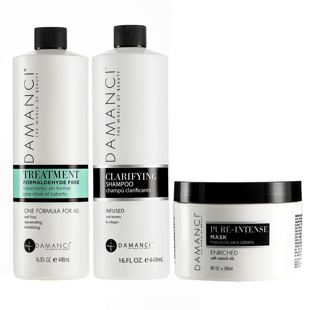 ZERØ KERATIN REVIVAL KIT goods DAMANCI 16 Oz