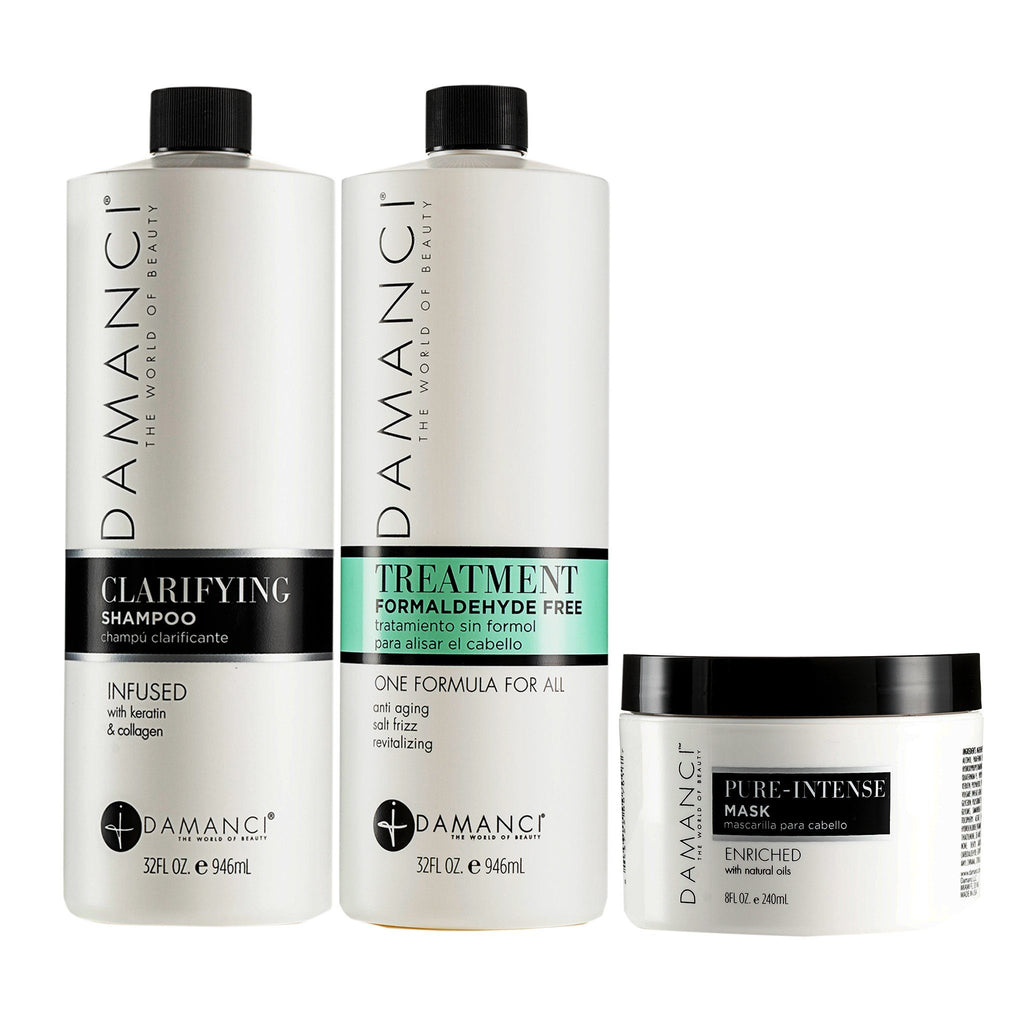 ZERØ KERATIN REVIVAL KIT goods DAMANCI 32 Oz