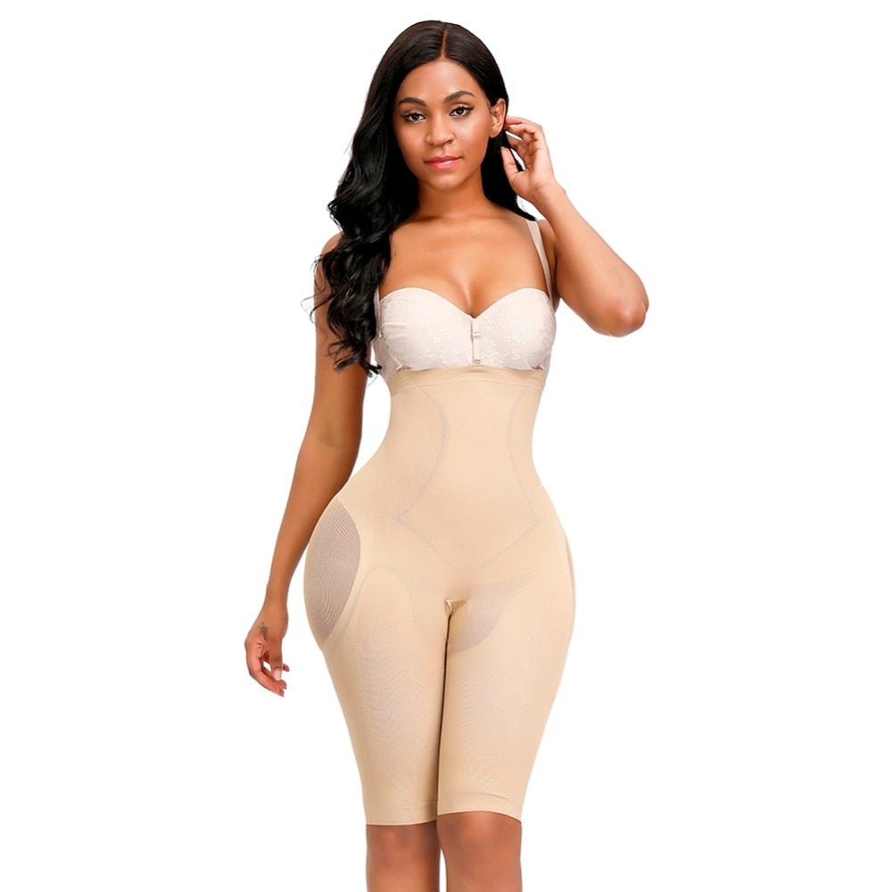 Expression™ Seamless Open-Bust Mid-Thigh Bodysuit
