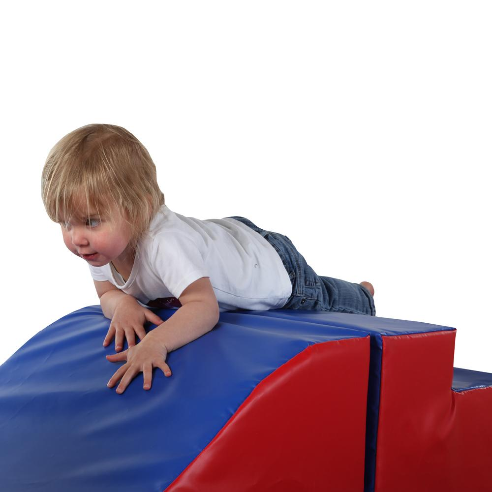 Extended Climb and Slide Play Set