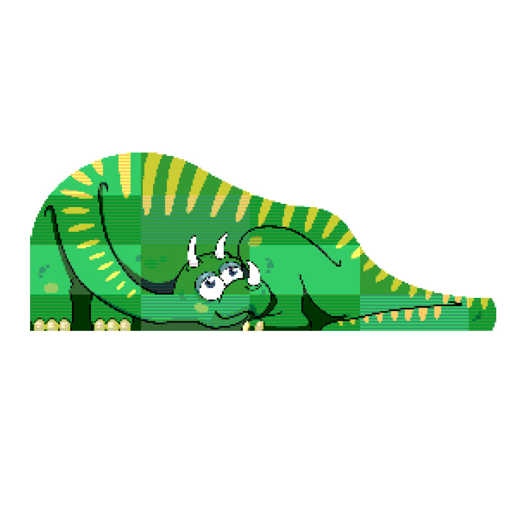 Dinosaur Ride and Slide