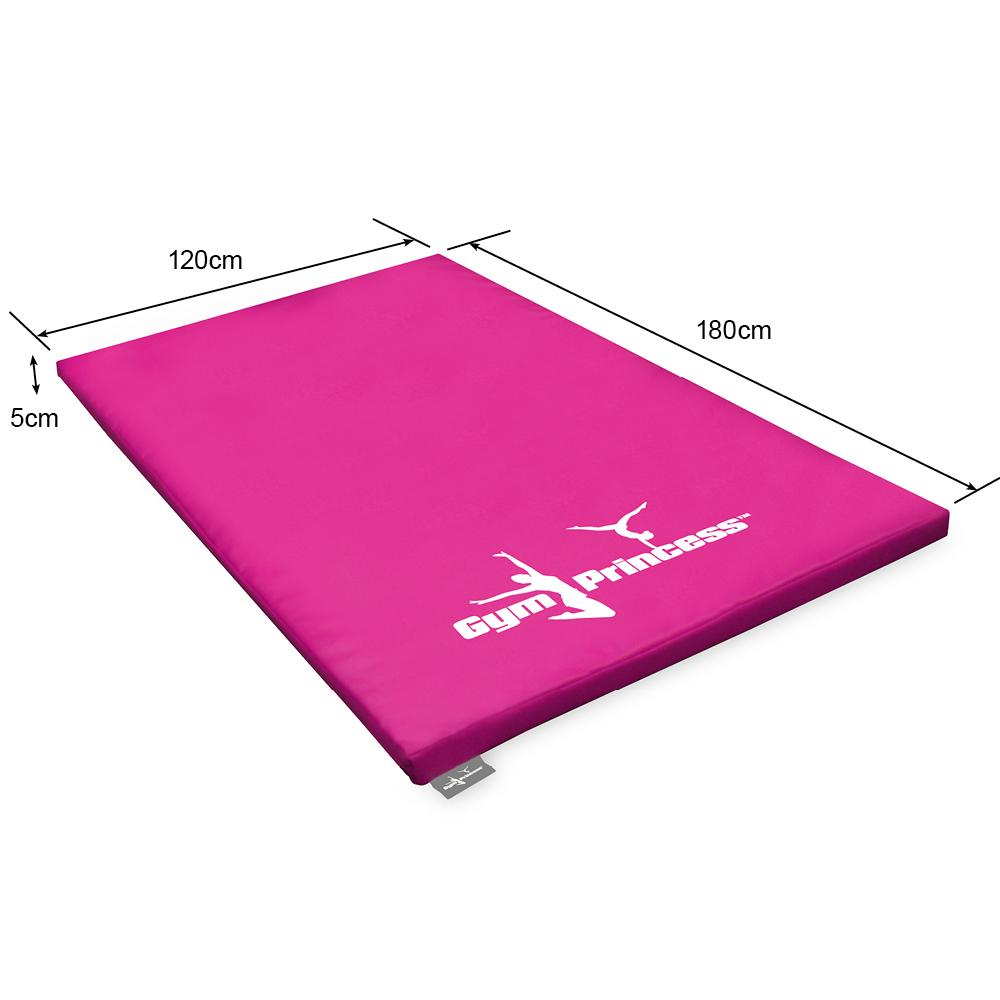 Gym Princess Gymnastic Mat - 180x120x5cm