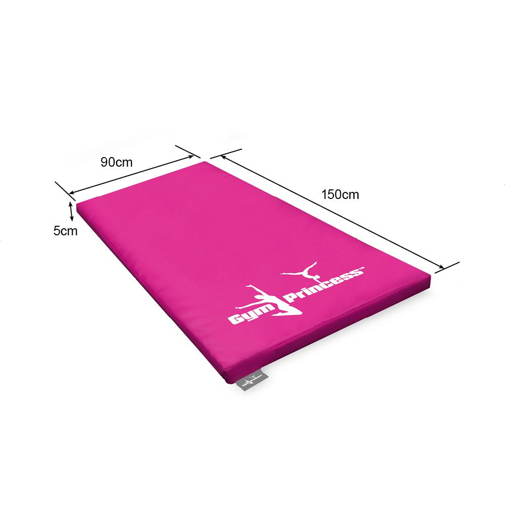 Gym Princess Gymnastic Mat - 150x90x5cm