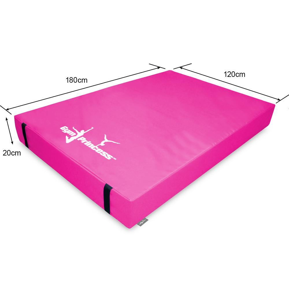 Gym Princess Gymnastic Mat - 180x120x20cm
