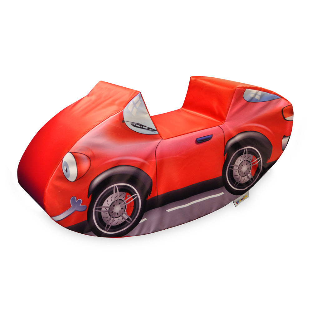 Red Car Soft Play Toy