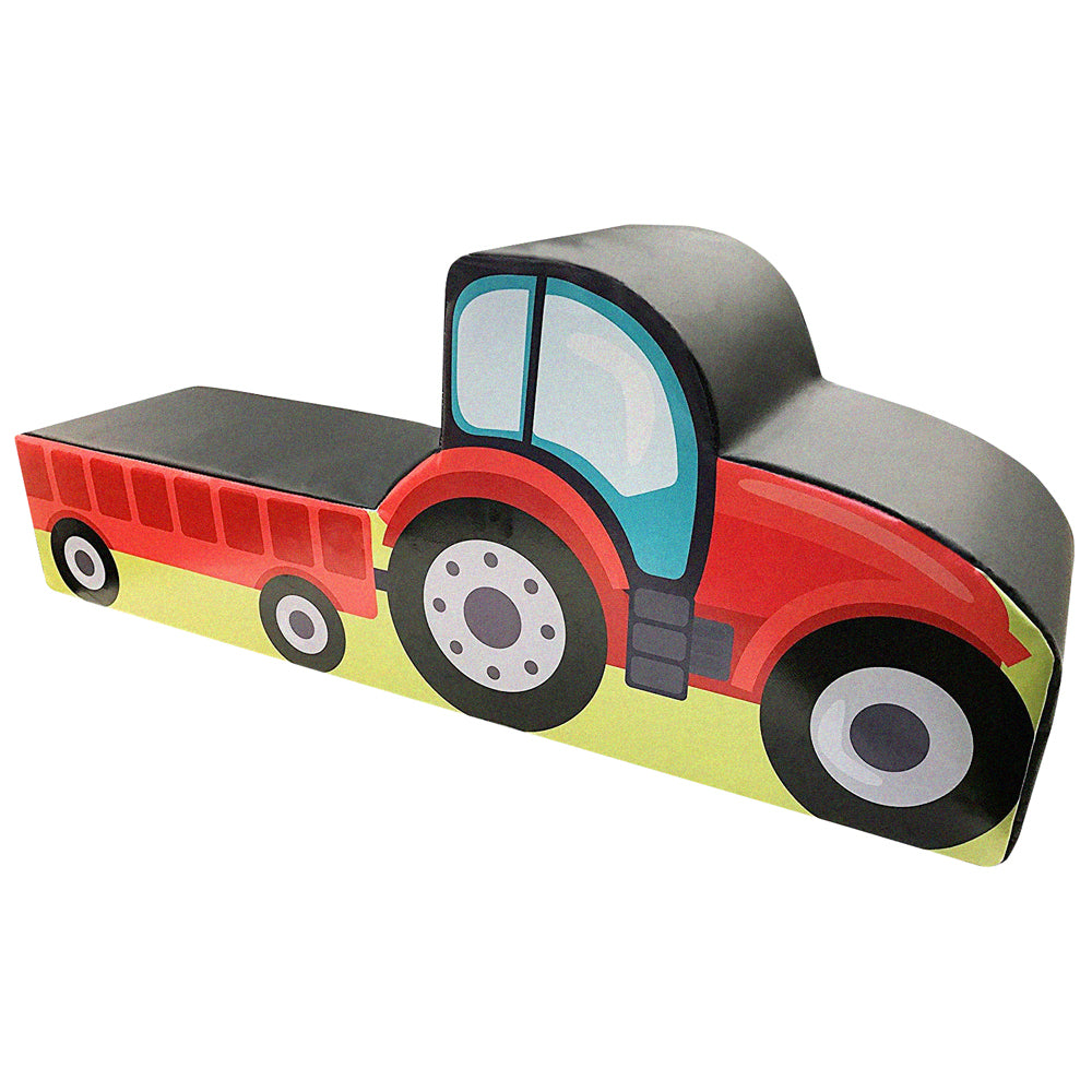 Soft play tractor