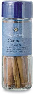 Cannella in canna in vaso