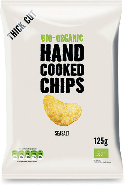 Hand cooked chips - classiche con sale
