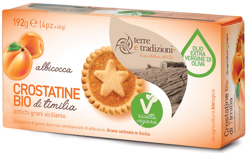 Crostatine di timilìa all'albicocca