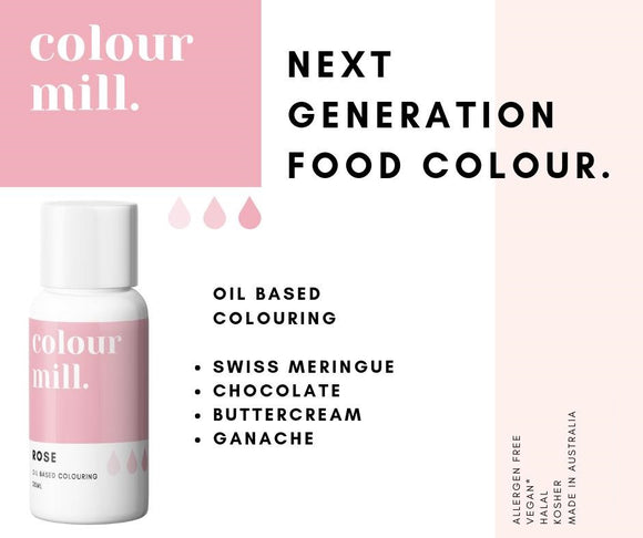 Introducing Colour Mill - Next Generation Food Colour