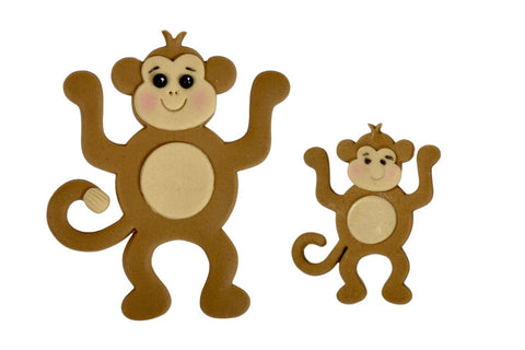 FMM Sugarcraft - Mummy & Baby Monkey Cutters