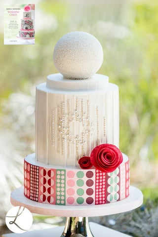 Simply Modern Wedding Cakes