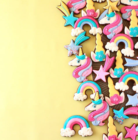 Sweet Tooth Fairy - Unicorn Decorating Kit (75 pieces)