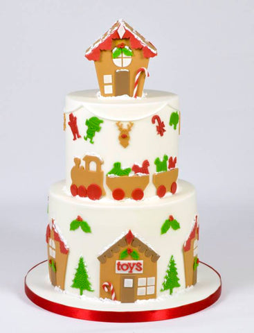 FMM Sugarcraft - Christmas Three Cutter
