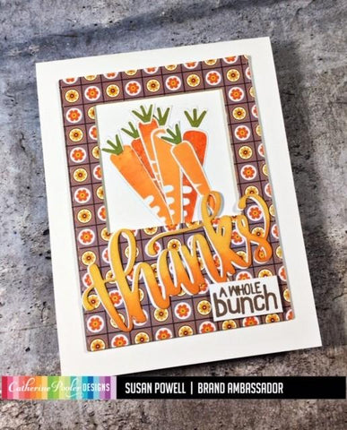 Catherine Pooler Veggies Please Stamp