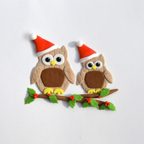 FMM Sugarcraft - Mummy & Baby Owl Cutters