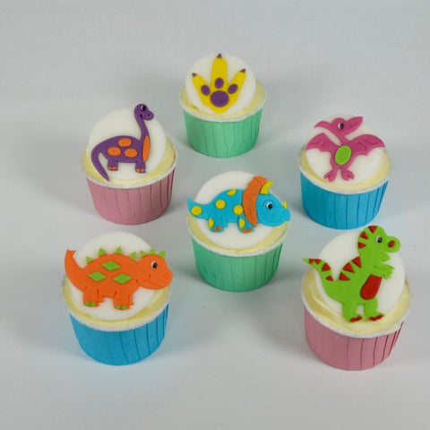 Cute Dinosaur Cutter Set