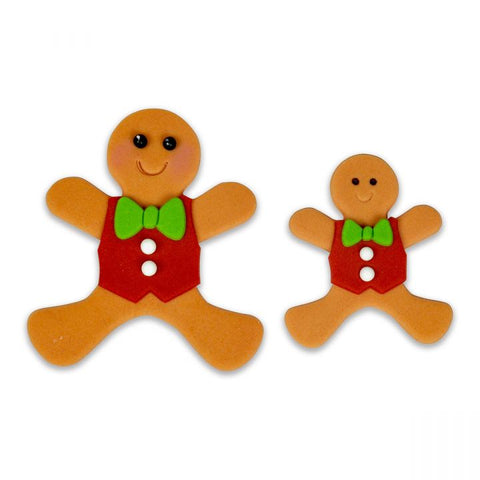 FMM Sugarcraft - Gingerbread People Cutter Set