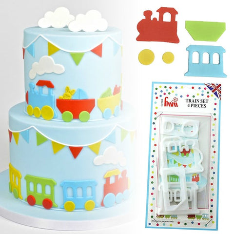 FMM Sugarcraft - Train Cutter Set