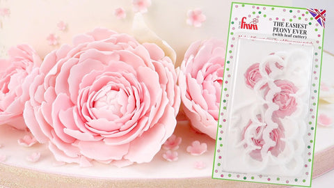 The Easiest Peony Ever With Leaf Cutter Set