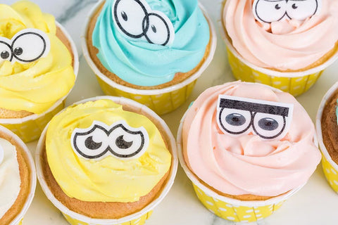 Cake Craft - Mixed Eyes Wafer Toppers
