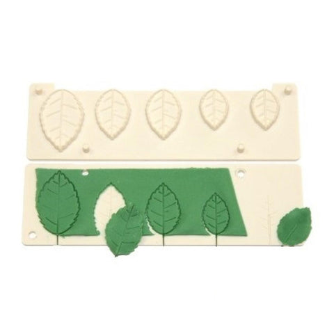 FMM Sugarcraft - Complete Rose Leaf Maker Cutter