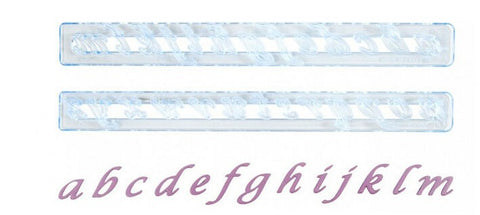 FMM Sugarcraft - Fondant Alphabe Cutter - Lower Case Script
