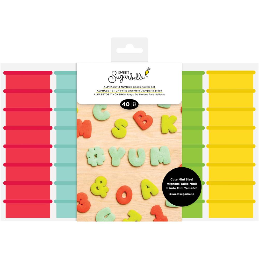 Sweet Sugarbelle - Cookie Cutters - Set 40pc - Mini Alpha & Number Set
