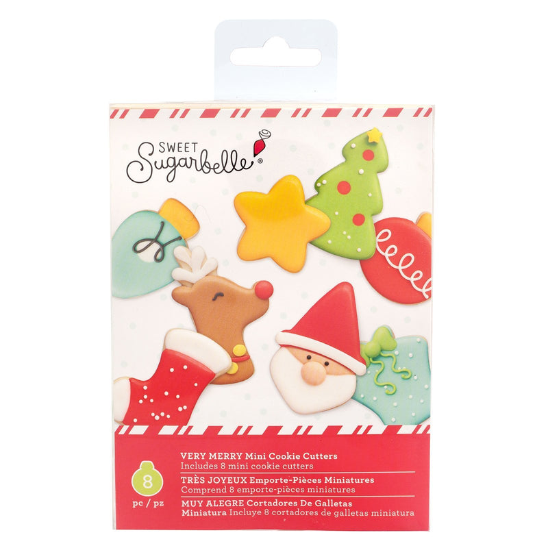 Sweet Sugarbelle - Mini Cookie Cutters - Very Merry (8 pieces)
