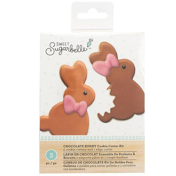 Sweet Sugarbelle - Cookie Cutter Kit - Chocolate Bunny (3 pieces)