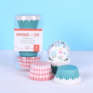 American Crafts - Homemade With Love - Mini Baking Cups Picnic
