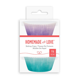 Homemade With Love - Baking Cups Watercolour