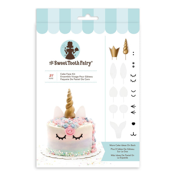 Sweet Tooth Fairy - Cake Face Kit - Dream Big (21 pieces)