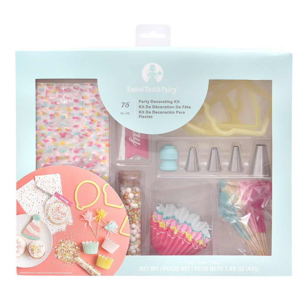 Sweet Tooth Fairy -  Party Decorating Kit (75 pieces)