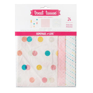 Homemade With Love - Treat Tissue Paper Summer 1 (24 pack)