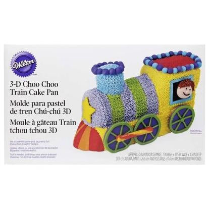 Wilton - Choo Choo Train Cake Pan Set
