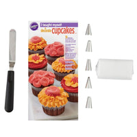 "Wilton - ""I Taught Myself To Decorate Cupcakes"" Cupcake Decorating Book Set - How To Decorate Cupcakes"