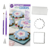 "Wilton - ""I Taught Myself To Decorate Cookies"" Cookie Decorating Book Set - How To Decorate Cookies"