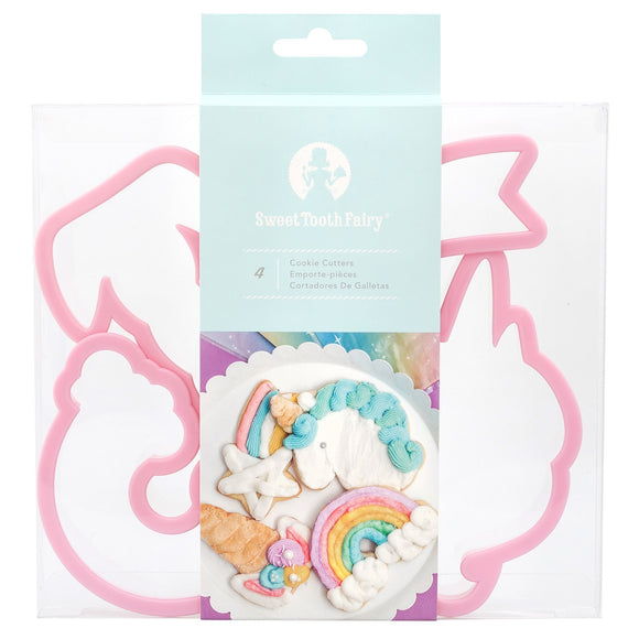 Sweet Tooth Fairy - Cookie Cutters - Born to Sparkle (2 pieces)