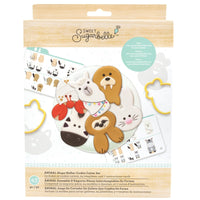 Sweet Sugarbelle - Shape Shifter Cookie Cutter Set - Animal (43 pieces)
