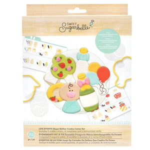 Sweet Sugarbelle - Shape Shifter Cookie Cutter Set - Life Events (29 pieces)