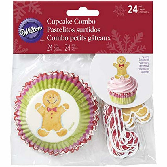 Wilton - Watercolour Gingerbread Combo Pack