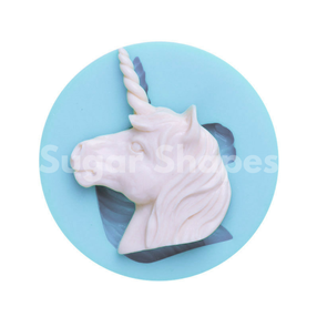 Sugar Shapes - Silicone Mould Unicorn Head