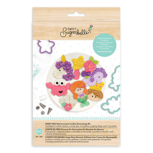 Sweet Sugarbelle - Cookie Cutters - Fairy Tale Buttercream Cookie Decorating Kit - 20pc