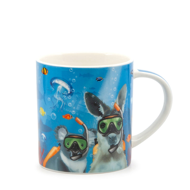 Christopher Vine DESTINATION AUSTRALIA Mugs - Great Barrier Reef