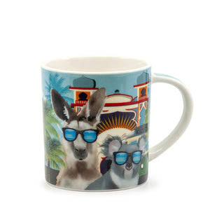 Christopher Vine DESTINATION AUSTRALIA Mugs - Melbourne St Kilda Mug