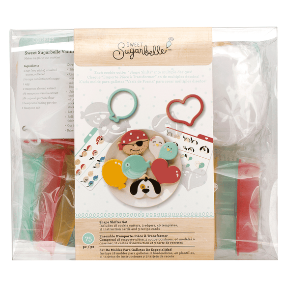 Sweet Sugarbelle - Cookie Cutter - Shape Shifter 1 Set (75 pieces)