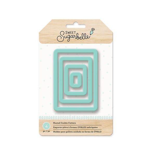 Sweet Sugarbelle - Nested Cookie Cutter - Rectangle (4 pieces)