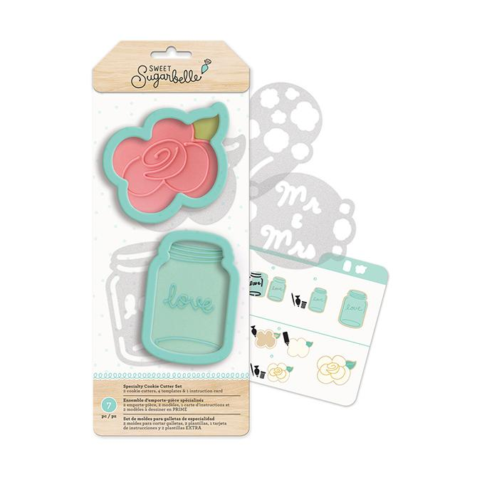 Sweet Sugarbelle - Cookie Cutters - Country Rose (7 pieces)