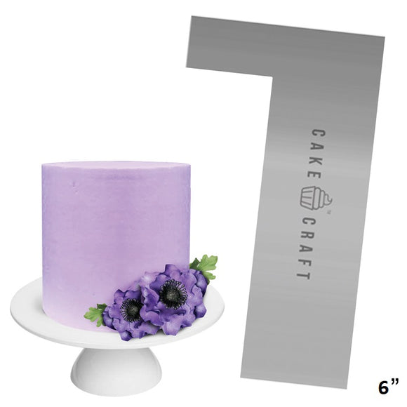 Cake Craft - Buttercream Comb - Straight Edge 6 Inch